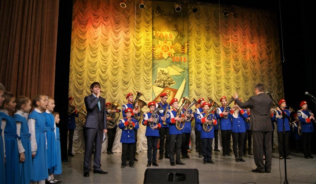 Духовой оркестр (рук. Шляхов Е. Н.)