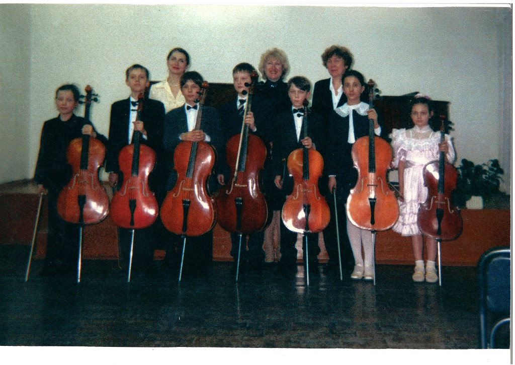 Справа налево: Войтенко Н.А., конц. Голикова И.В., конц. Мелихова Н.А.