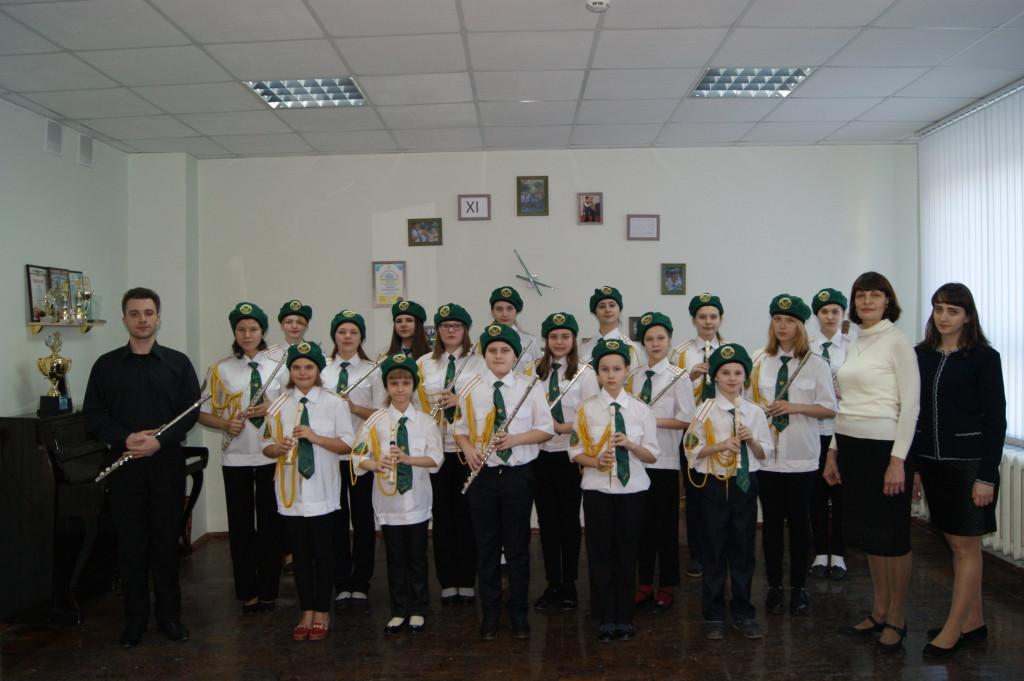 Ансамбль флейтистов (рук. Колногузенко Е. В., конц. Каишаури Э. Г.)