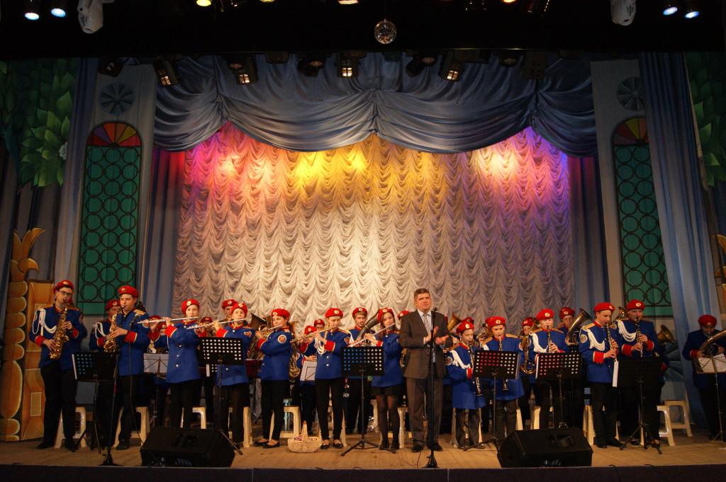 Образцовый духовой оркестр им. Б. А. Попова (рук. Евгений Николаевич Шляхов)