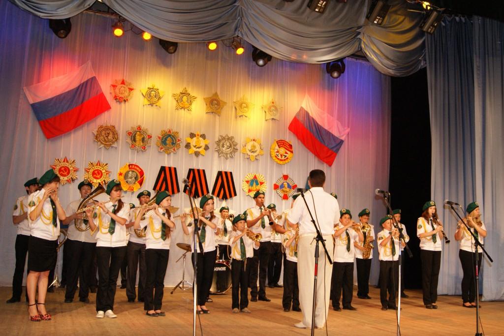 Духовой оркестр (рук. Шляхов Е.Н.)