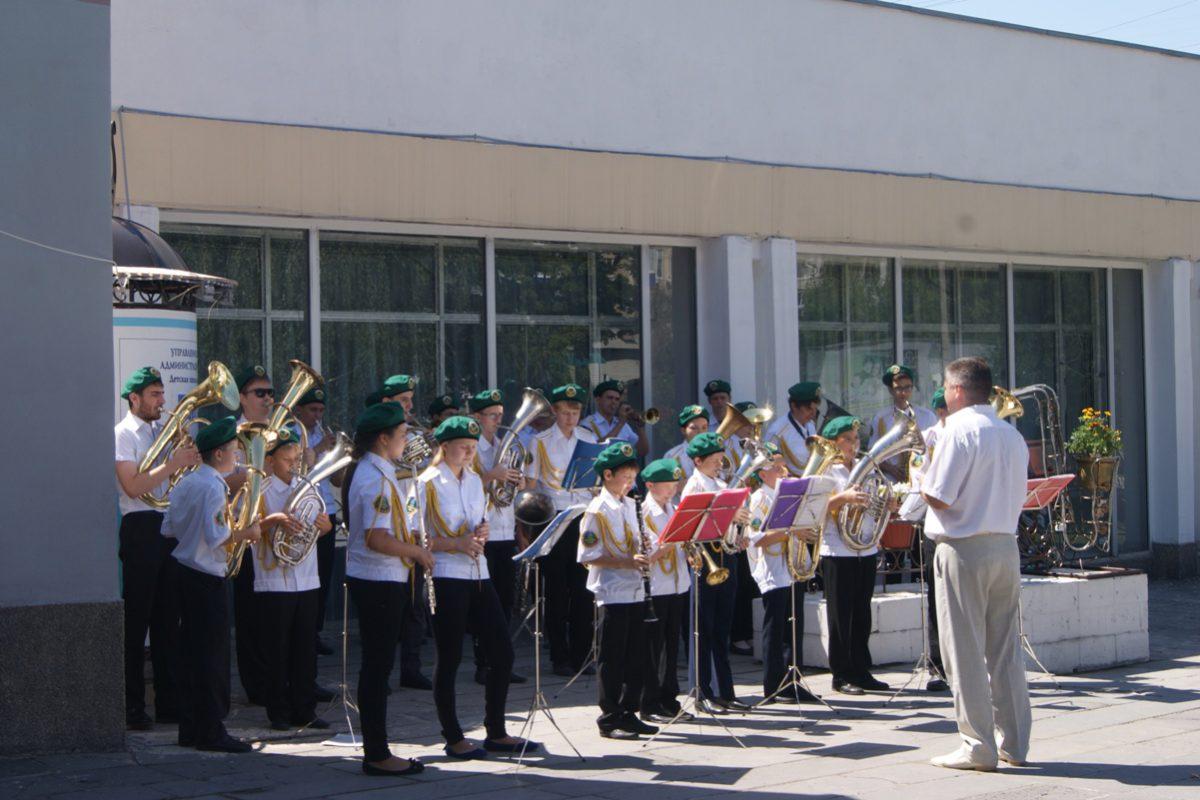 Праздничный концерт, посвященный Дню города